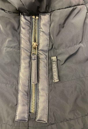 Leather Replacement on Winter Coat